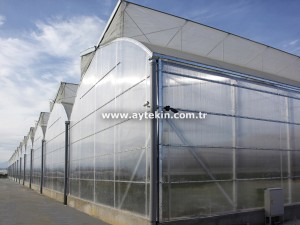 Polycarbonate greenhouse decar cost