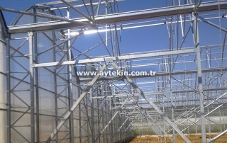 Greenhouse materials in Antalya