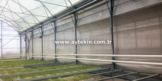 seedling greenhouse installation