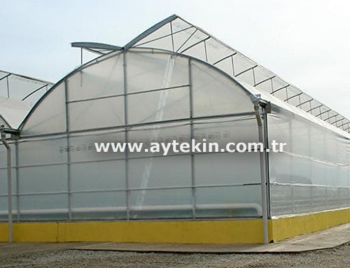 Soil Based Greenhouse Denizli